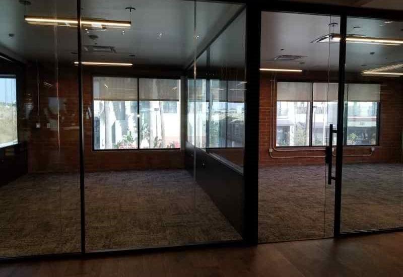 metal stud framing & drywall 7